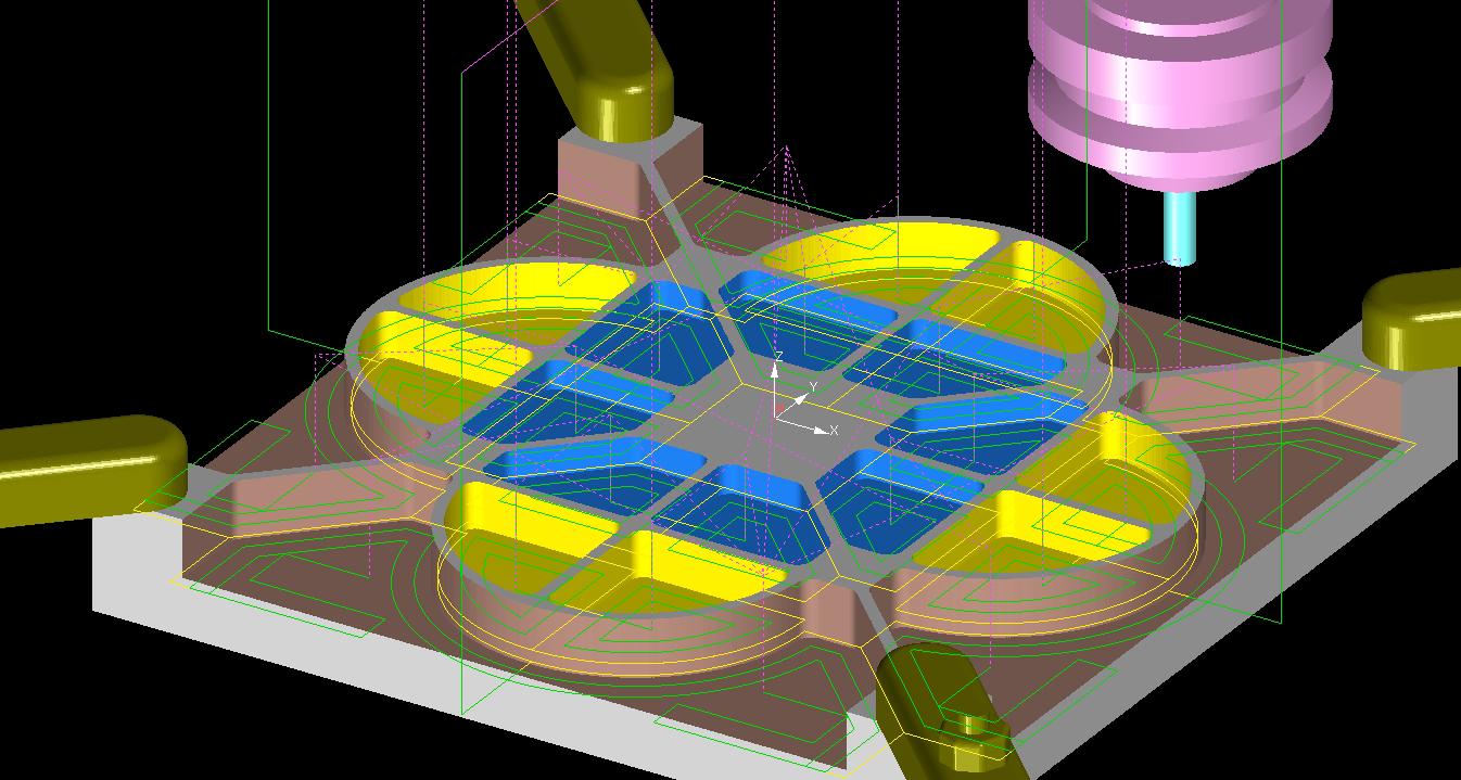 NCVIEW MC3による3次元加工切削シミュレーション